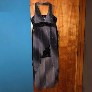 Deb High Low Ombre Dress